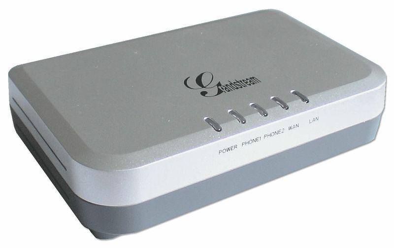 ATA Grandstream HT502 Handy Tone com 2 portas FXS (HT502)