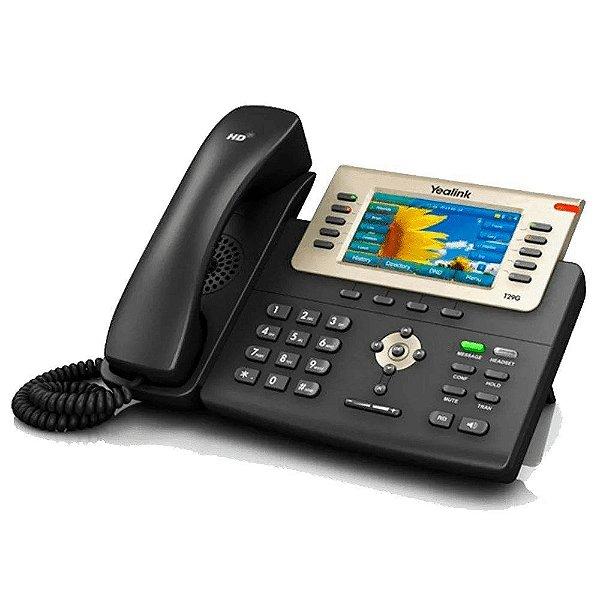 TELEFONE IP YEALINK SIP-T29G VOZ HD GIGA (T29G)