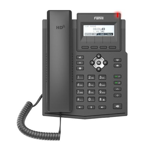 TELEFONE IP  X1SP (Com PoE e s/fonte) FANVIL