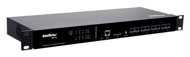 PABX IP Intelbrás CIP 850 c/ 4 FXO + 4 FXS e até 50 ramais