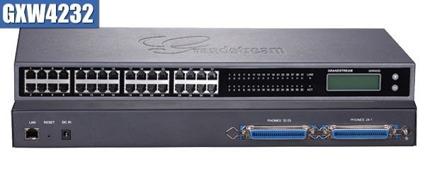 Gateway VoIP Grandstream GXW 4232 - com 32 portas FXS (GXW4232)