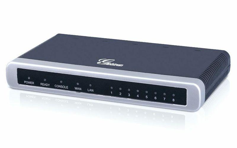 GATEWAY VOIP GRANDSTREAM GXW 4108 COM 8 PORTAS FXO (GXW4108)