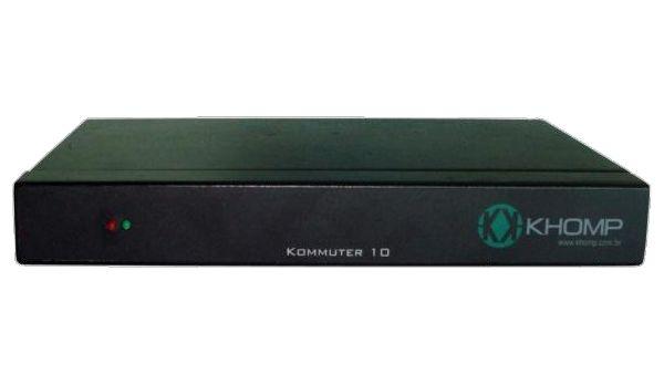 COMUTADOR DE TRONCO E1 KHOMP KOMMUTER 10 P/ 1E1 (KOMMUTER-10)