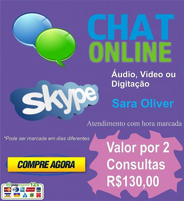 Consultoria Online Via CHAT - Sara Oliver - Pacote