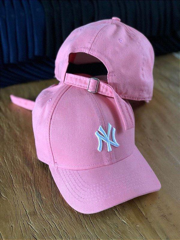 Cap New Era New York Yankees Rose Strapback Aba Curva