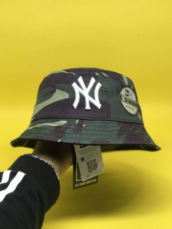 Bucket Hat New Era New York Yankees Camo