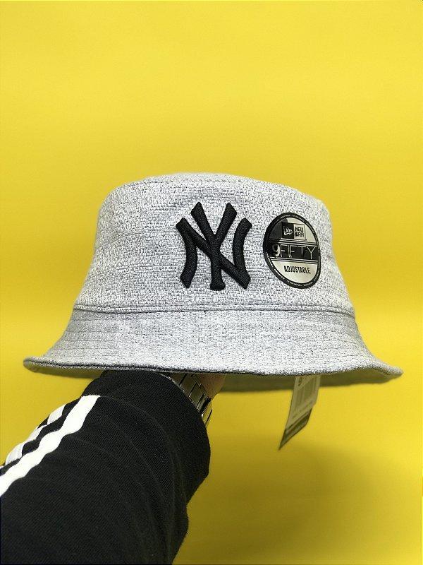 Bucket Hat New Era New York Yankees Grey