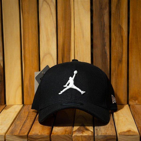 Cap Jordan Brand Jumpman Black Strapback Aba Curva