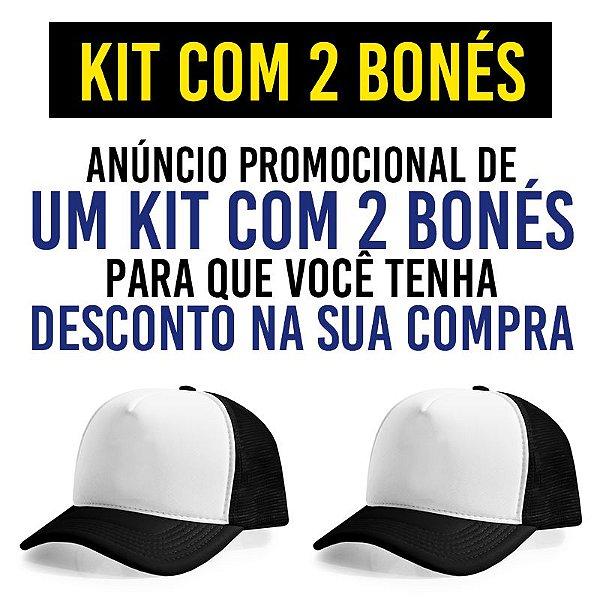 Kit Promocional com 2 Bonés