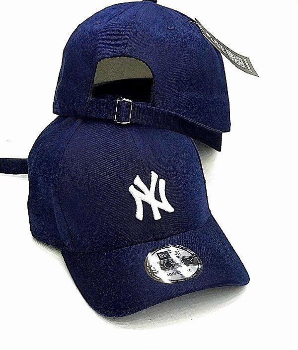 Cap New Era New York Yankees Navy Strapback Aba Curva