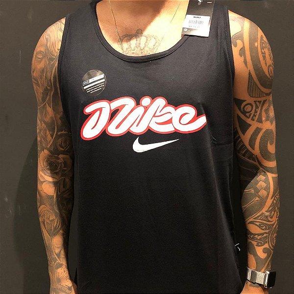 Camiseta Regata Nike Funny Black