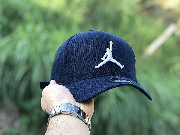 Cap Jordan Brand Jumpman Navy Strapback Aba Curva