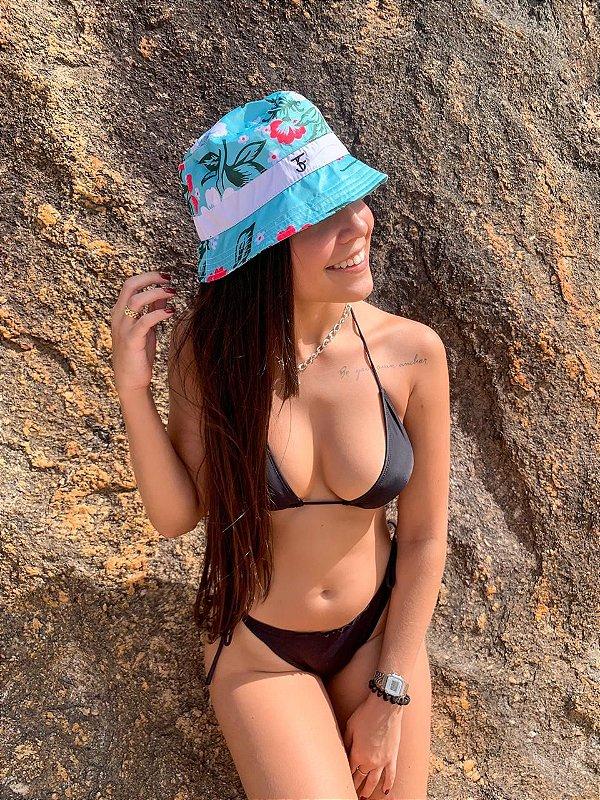 Bucket Hat Três Efes Floral Green