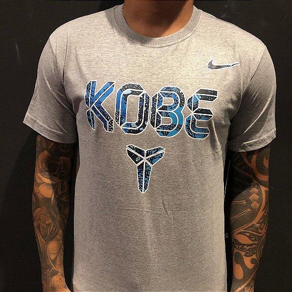 Camiseta Manga Curta Nike Kobe Bryant Blend Gray
