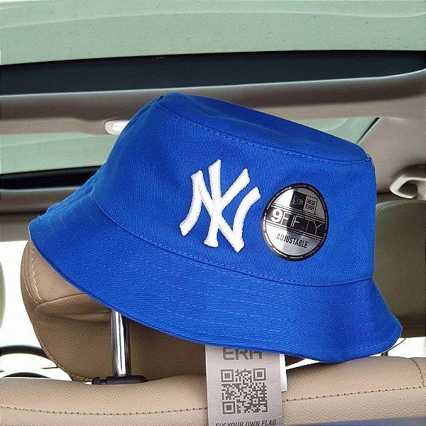 Bucket Hat New Era New York Yankees Royal Blue