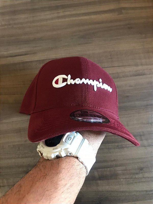 Cap Champion Class Wine Strapback Aba Curva