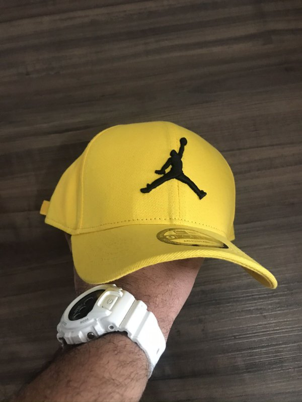 Cap Jordan Brand Jumpman Yellow Strapback Aba Curva