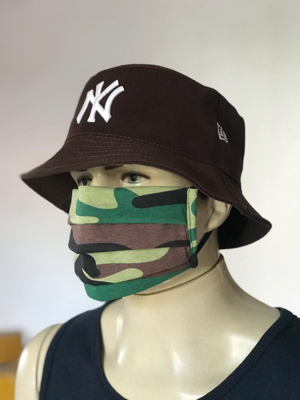 Bucket Hat New Era New York Yankees Brown