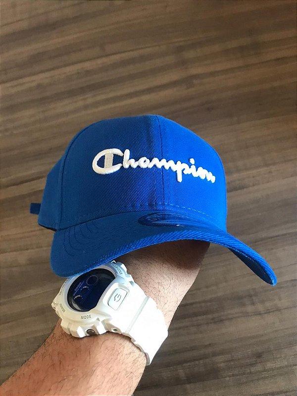 Cap Champion Class Royal Blue Strapback Aba Curva