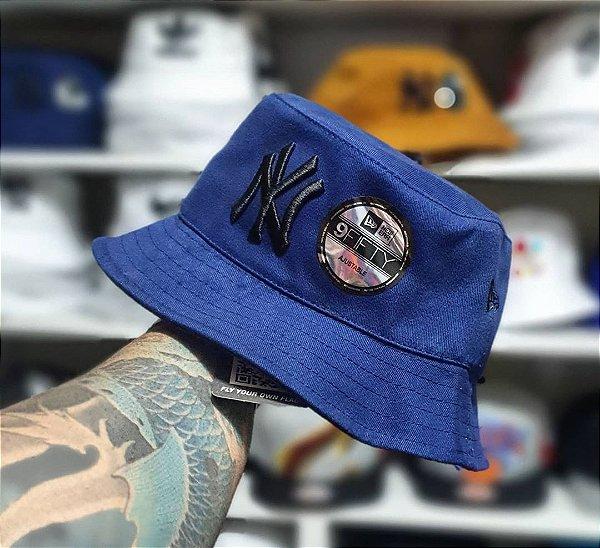 Bucket Hat New Era New York Yankees Navy Black