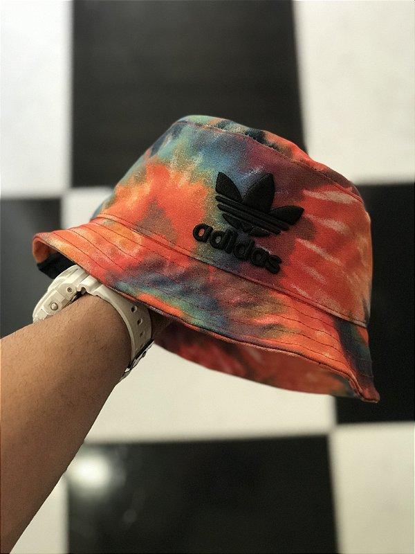 Bucket Hat Adidas Brand Tie Dye Summer Lights