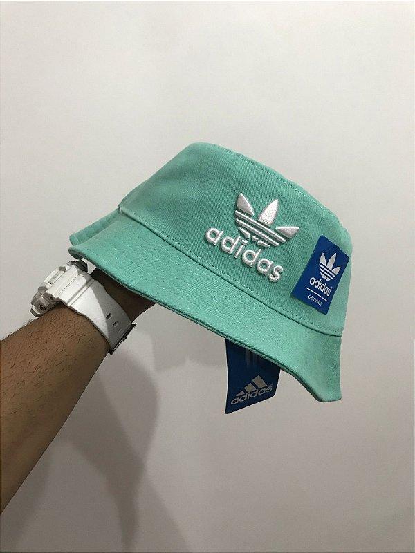 Bucket Hat Adidas Brand Light Green