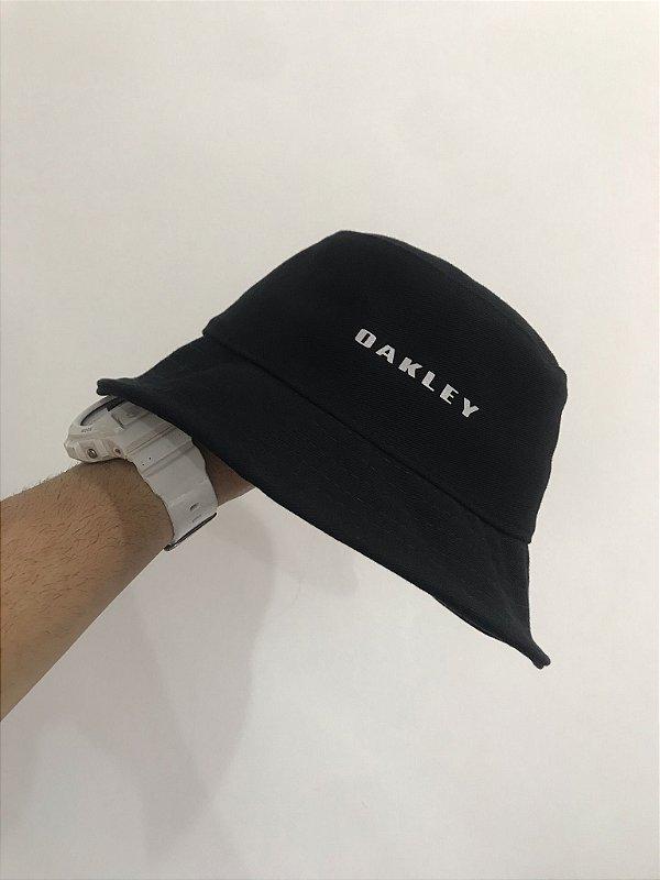 Bucket Hat Oakley Reflective Black