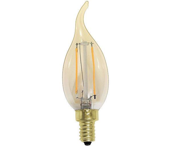 Lampada de filamento led mesquita eltrica e iluminaao lmpada filamento led chama e14 lp33327 opus 2200k thecheapjerseys Choice Image