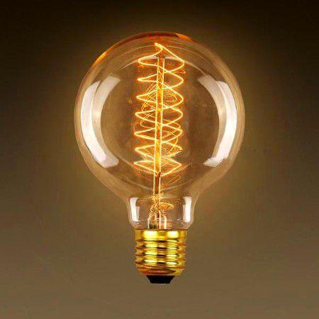 Lmpada de filamento de carbono mesquita eltrica e iluminaao lmpada de filamento de carbono g95 40w starlux thecheapjerseys Choice Image