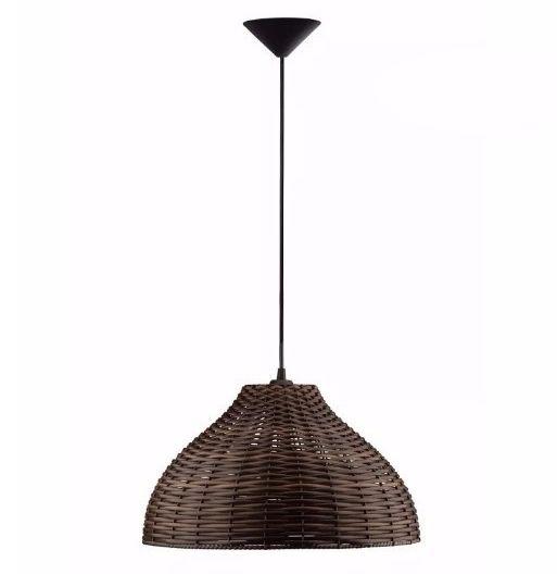 Pendente de fibra mesquita eltrica e iluminaao pendente de fibra mesclada carola vps31 3 vesper altavistaventures Choice Image