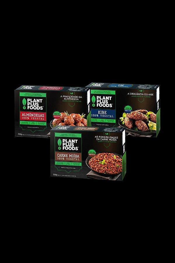 LEVE 3 PAGUE 2 - Carne Moida Plant Foods - Congelado