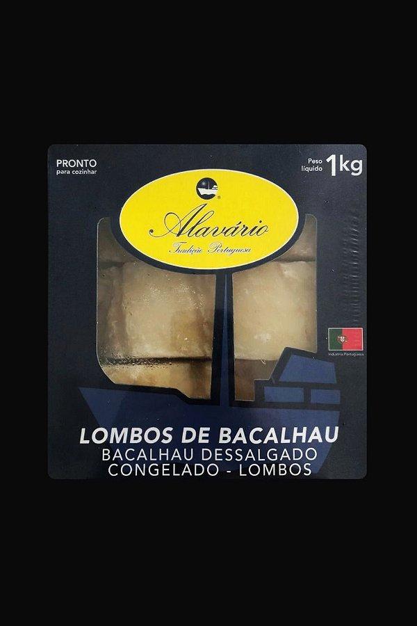 Lombo Bacalhau Português Dessalgado Gadus 1 kg