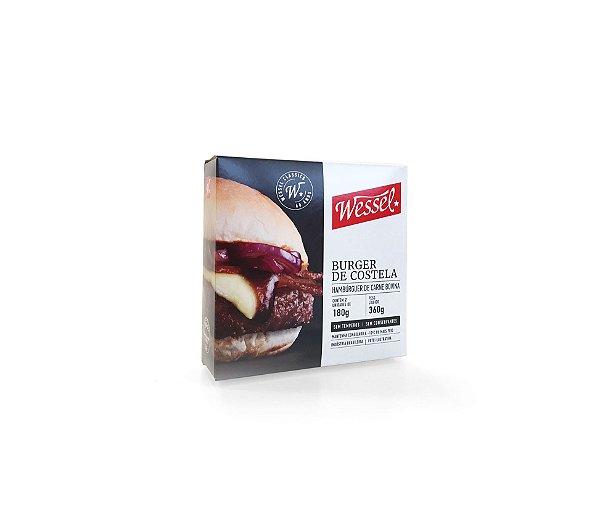 Burger Costela cx 02 un.