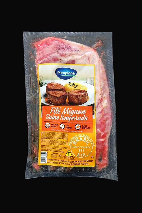 Filé Mignon Suíno Temperado 1,150 kg - Resfriado