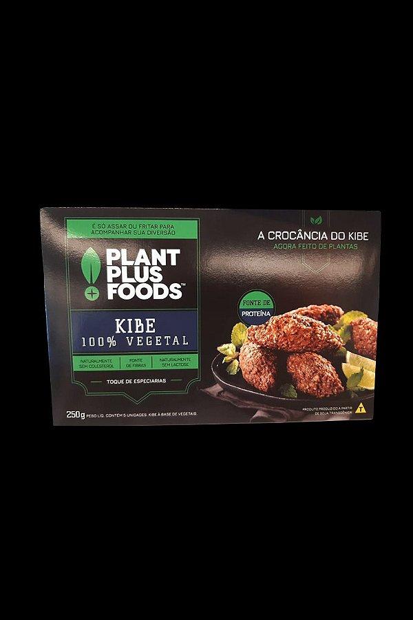 Kibe 100% Vegetal Plant Foods 05 unidades 250g - Congelado
