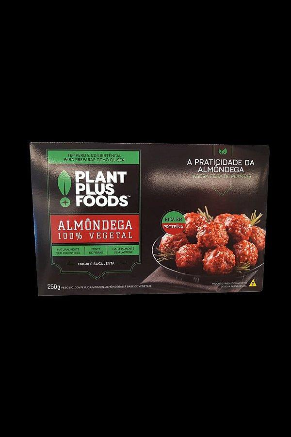 Almondega 100% Vegetal Plant Foods 10 unidades 250g - Congelado