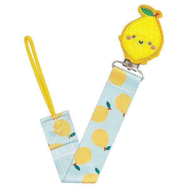 Prendedor de Chupeta Animal Fun - Limão - Buba