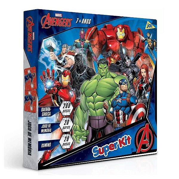 Super Kit de Jogos Avengers - Jak