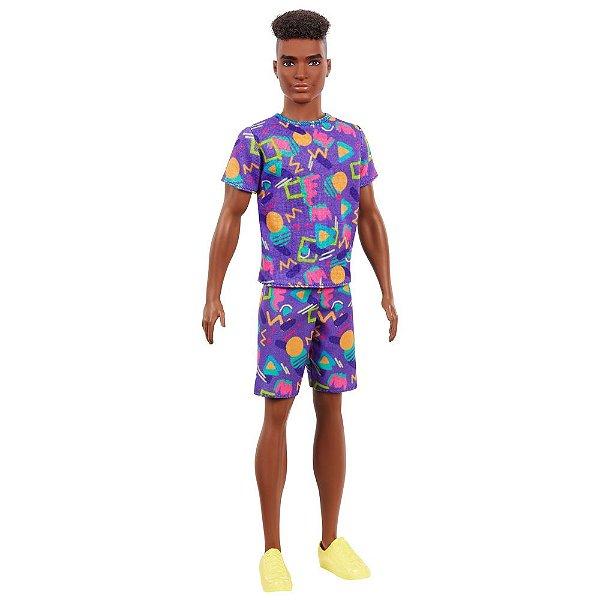 Ken Fashionista - Negro 162 - Mattel