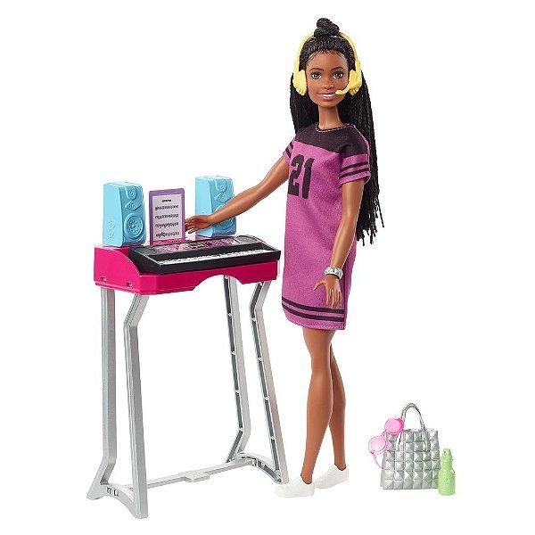 Boneca Barbie Estúdio de Música - Big City Big Dreams - Mattel