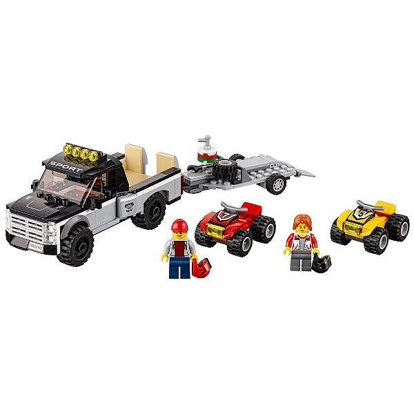 Lego City - Equipe de Corrida de Veículo Off-Road