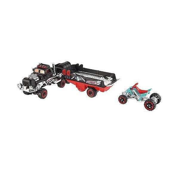 Hot Wheels Caminhão Transportador - Haulin' Horsepower - Mattel