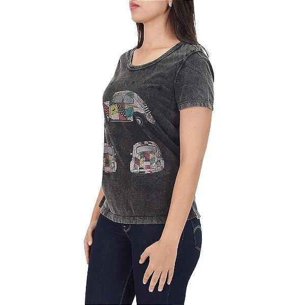 Camiseta Estonada Fusca Retrô - Beagle
