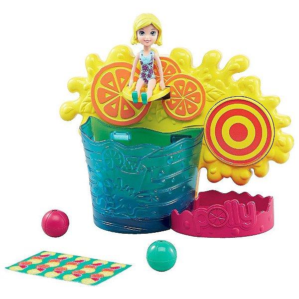 Polly Pocket - Brincadeira Surpesa Aquática - Mattel