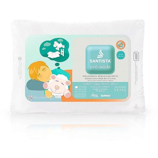 Travesseiro Infantil Pró-Saúde Crescidinhos - Santista