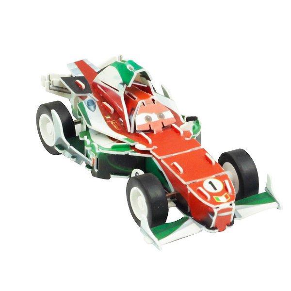Quebra-Cabeça 3D - Carros - Francesco - DTC