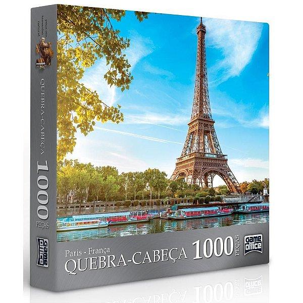 Quebra-cabeça Paris-França  – 1000 peças – Toyster