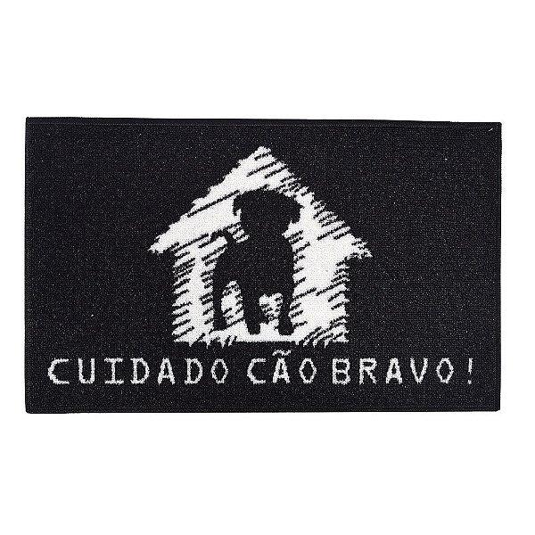 Tapete de Entrada Cão Bravo - Bella Casa