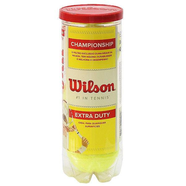 Kit Bola de Tênis - 3 unidades - Wilson