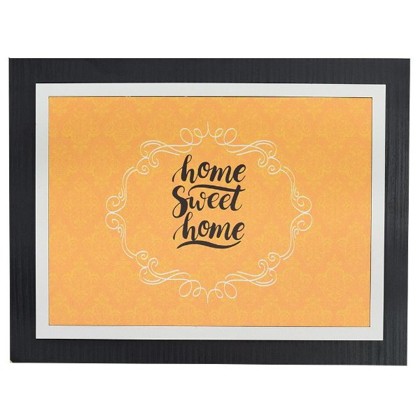 Quadro Decorativo Home Sweet Home - 30 x 23 cm